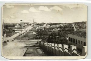 brazil, CASTRO, Paranà, Vista Parcial (1930s) Wessel RPPC