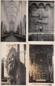 Regensburg Maria Holy Mary 4x Real Photo Religious German Postcard s