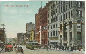 United States ? Pacific Ave., Tacoma, Wash - 1912 unused ...