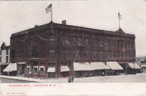JAMESTOWN, North Dakota, 1907 ; Gladstone Hotel