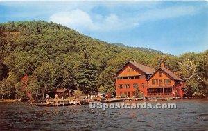 Steamboat Landing - Blue Mountain Lake, New York