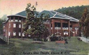New York Elmira Roricks Glen Theatre 1908