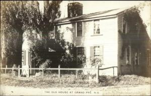 Grand Pre NS Nova Scotia The Old House c1920s-30s Postcard