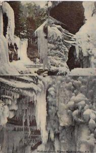 New York Watkins Glen In Winter