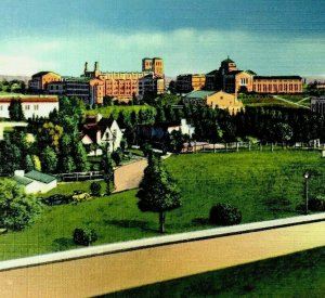 Postcard Westwood California University of California at Los Angeles Unposted
