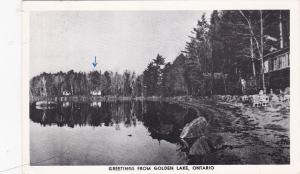 Greetings from GOLDEN LAKE , Ontario , Canada , PU-1956