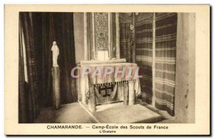 Old Postcard Scout Jamboree Scout Camp School Chamarande Scouts of France L &...