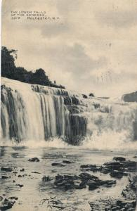 Lower Falls of the Genesee River - Rochester, New York - pm 1908 - DB