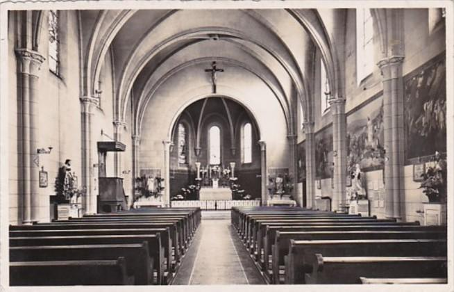 Switzerland Leysin Eglise Catholique 1950 Photo