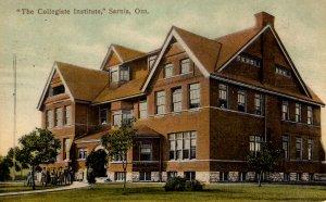 Sarnia, Ontario -Canada - The Collegiate Institute - in 1908