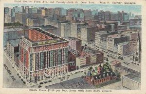 NEW YORK CITY, 00-10s ; Hotel Seville, Fifth Ave. & Twenty-ninth St.