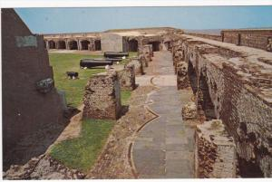 CHARLESTON, South Carolina, 1940-1960´s; Fort Sumter, Civil War Guns And Ruins