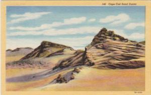 Massachusetts Cape Cod Sand Dunes Curteich