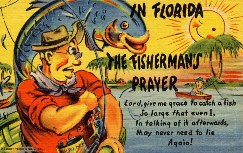 Fish - In Florida, The Fisherman's Prayer