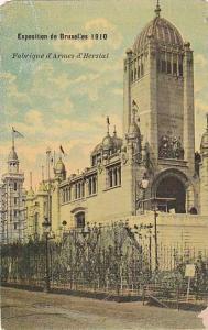 Fabrique d'Armes d'Herstal, Exposition De Bruxelles 1910, Belgium, 1900-1910s
