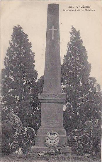 ORLEANS, Monument de la Sabliere, Loiret, France, 10-20s