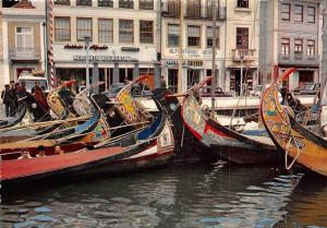 Portugal Aveiro Barcos Moliceiros, Typical sea-wrack boats of this region boote
