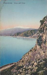 Taormina, Vista dell' Etna, Sicilia, Italy, 00-10´s