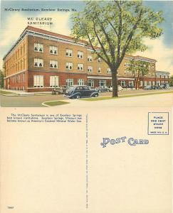 McCleary Sanitarium in Excelsior Springs, Missouri, MO, Linen