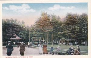 Massachusetts Fitchburg Scene In Whalom Park