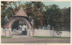 GWYNEDD VALLEY, Pennsylvania, 1900-1910s; Residence Of Ralph Beaver Strassurger