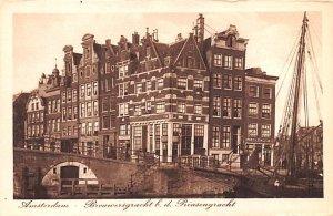 Brouversgracht bd Prinsengracht Amsterdam Holland Unused