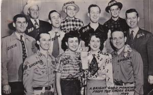 Iowa Des Moines A Bright Good Morning From The Chore Gang 1949 Real Photo