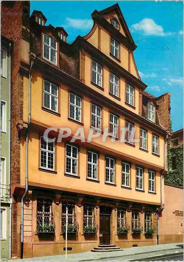 CPM Frankfurt Am Main Goethe Haus HipPostcard