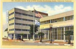 KNX Columbia Broadcasting System, Hollywood, California, 30-40s
