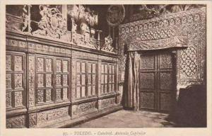 Spain Toledo Catedral Antesala Capitular
