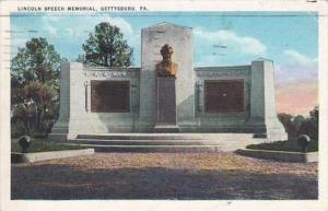 Pennsylvania Gettysburg Lincoln Speech Memorial 1936