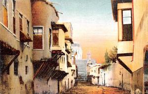 Damas, Syria Postcard, Syrie Turquie, Postale, Universelle, Carte Rue Droite ...