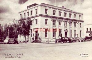 U.S. POST OFFICE, JAMESTOWN, ND RPPC circa 1950