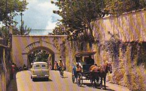 Gregory Arch Soutn Entrance to Old Nassau Bahamas
