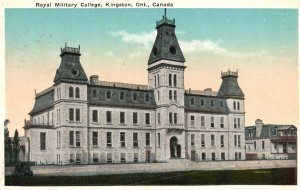 Vintage Postcard 1924 Royal Military College Kingston Ontario Canada TV&S