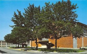 Groton Connecticut~Naval Submarine Base~Morton Hall~1960s Postcard