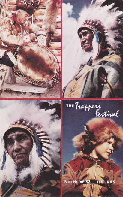 Indians at the Trapper's Festival - The Pas MB, Manitoba, Canada