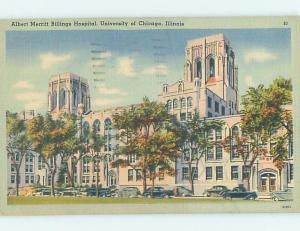 Linen HOSPITAL AT UNIVERSITY OF CHICAGO Chicago Illinois IL L7979