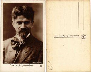 CPA G. DE LA FOUCHARDIERE . WRITER (500365)