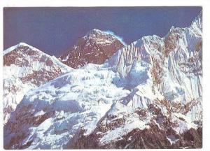 Mt. Everest, New Hotel Crystal, Pokhara, Nepal, 50-70s