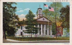 New York Newburgh Court House 1945