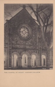 POUGHKEEPSIE, New York , 10-30s; The Chapel At Night, Vassar College