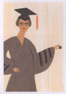 Sadie Tanner Massell Alexandra 1st African American Economics PHD Postcard