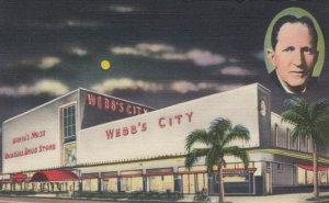 ST PETERSBURG, FL, 30-40s; Webb's City, World's Most Unusual Drug Store at Night