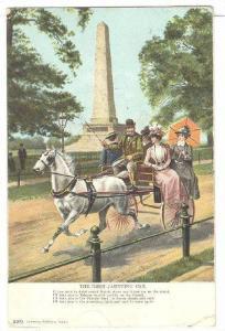 Horse-drawn carriage, The Irish Jaunting Car Poem, PU-1905