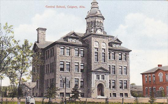 CALGARY , Alberta , Canada , 00-10s ; Central School