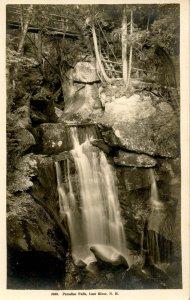 NH - Lost River.  Paradise Falls            *RPPC