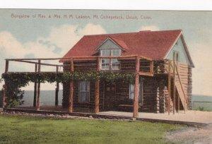 UNION, Connecticut, 00-10s; Bungalow of Rev. & Mrs. H.M. Lawson, Mt. Ochepetuck