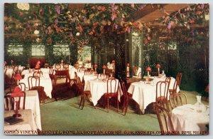 Omaha Nebraska~Hotel Rome~Vineyard European Dining Room~Grape Vine Ceiling~1911