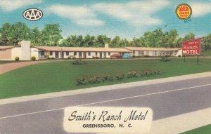 GREENSBORO , North Carolina , 30-40s ; Smith's Ranch Motel
